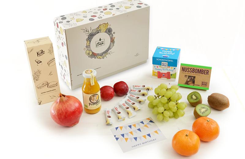 Geburtstag Box