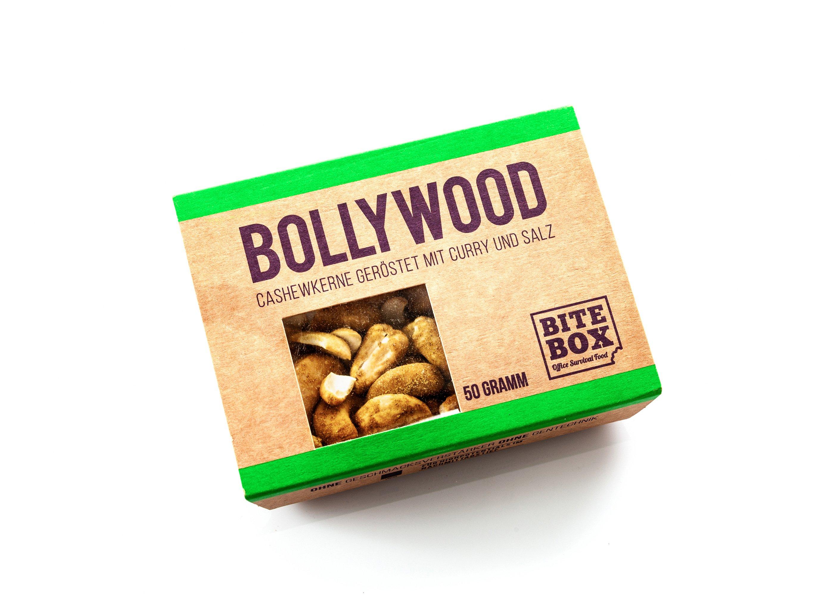 Cashewkerne geröstet mit Curry und Salz (50 g)
