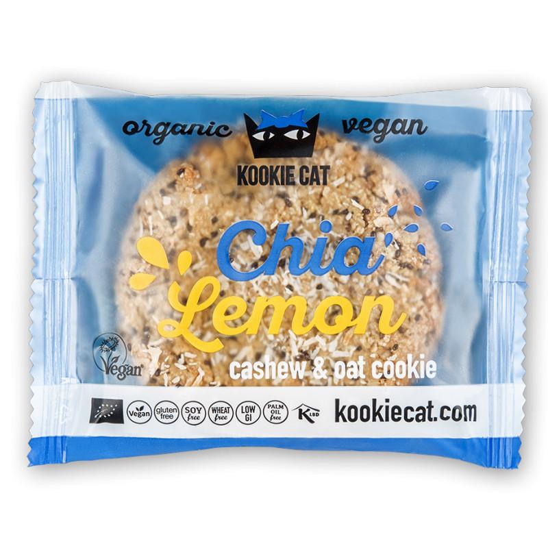 Bio Vegan Kookie Cat Chia Zitrone (50 g)