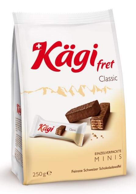 Mini Schokoladenwaffel 10 Stück (64 g)