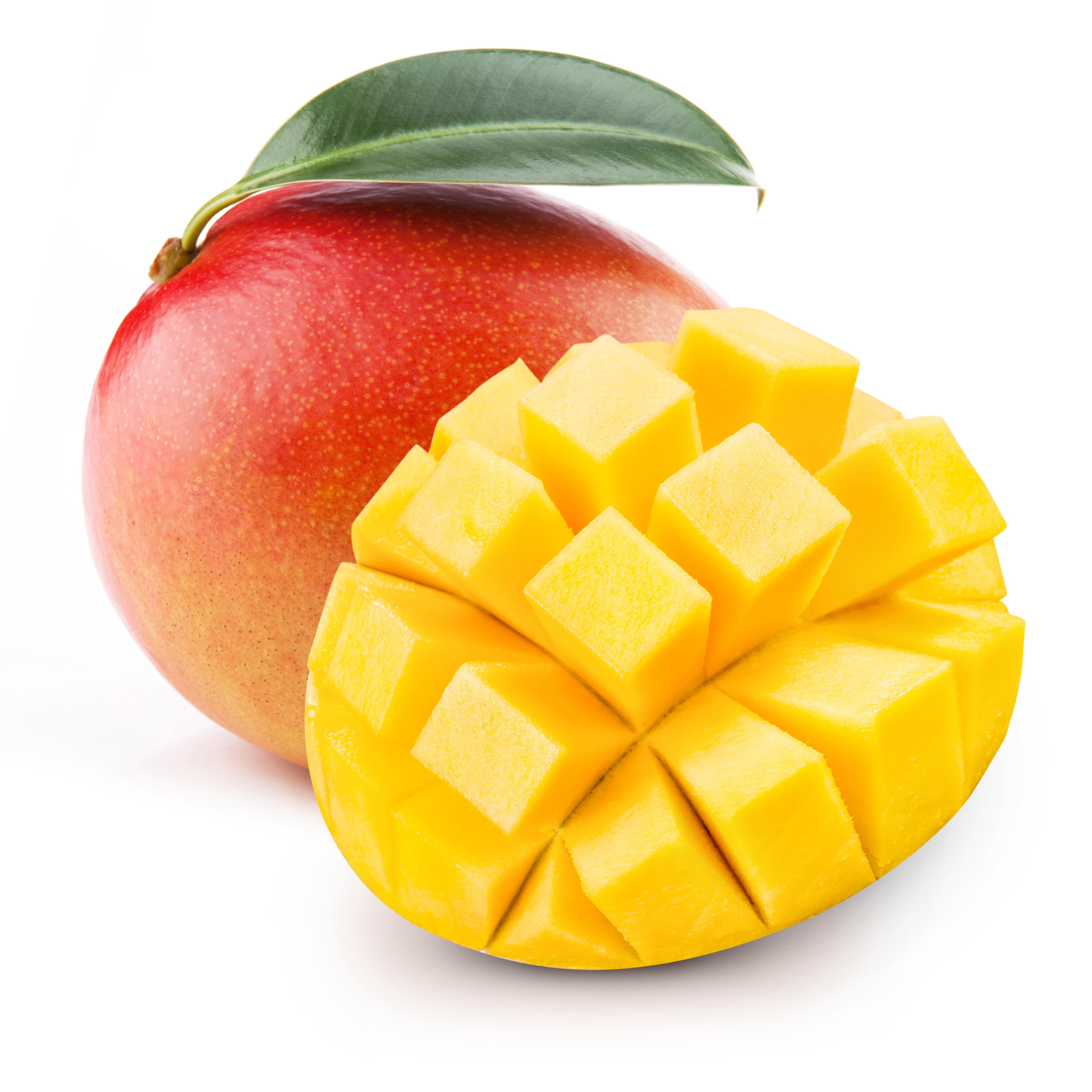Vorgereifte Mango
